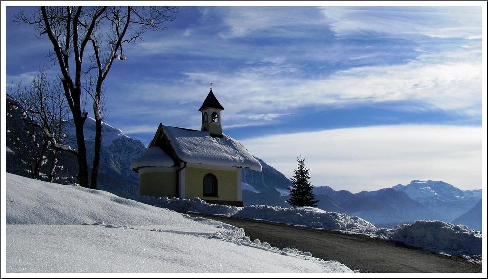 Das Kirchlein am Berg