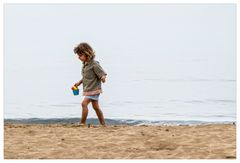 Das kleine Mädchen und das Meer