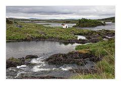 Das kleine weiße Haus in Connemara