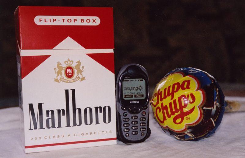 Das kleinste Handy der Welt...