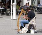 Das Klischee vom himmlischen Harfespieler