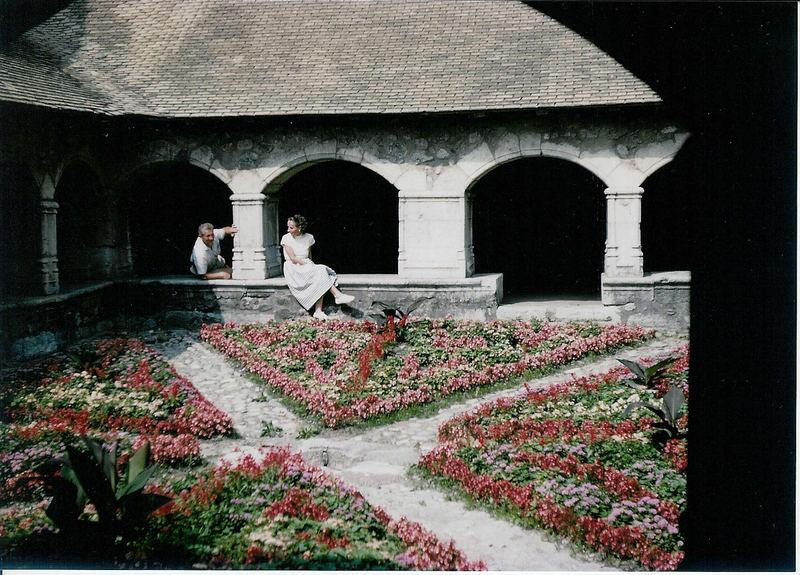 Das Kloster von Mélan bei Taninges (Obersavoyen)