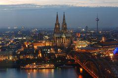 Das Kölner Rheinpanorama