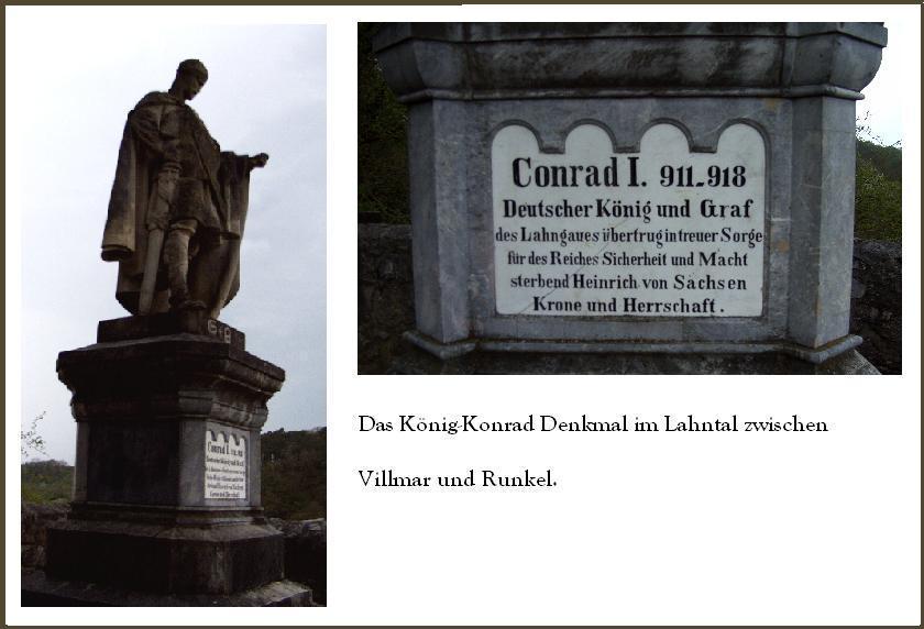 Das König-Konrad Denkmal