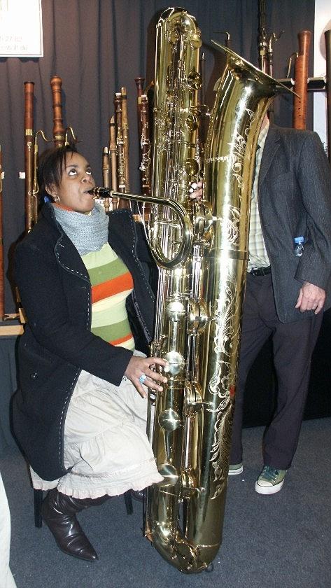 Das Kontrabaßsaxophon von Benedikt Eppelsheim