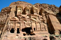 Das Korinthische Grab in Petra