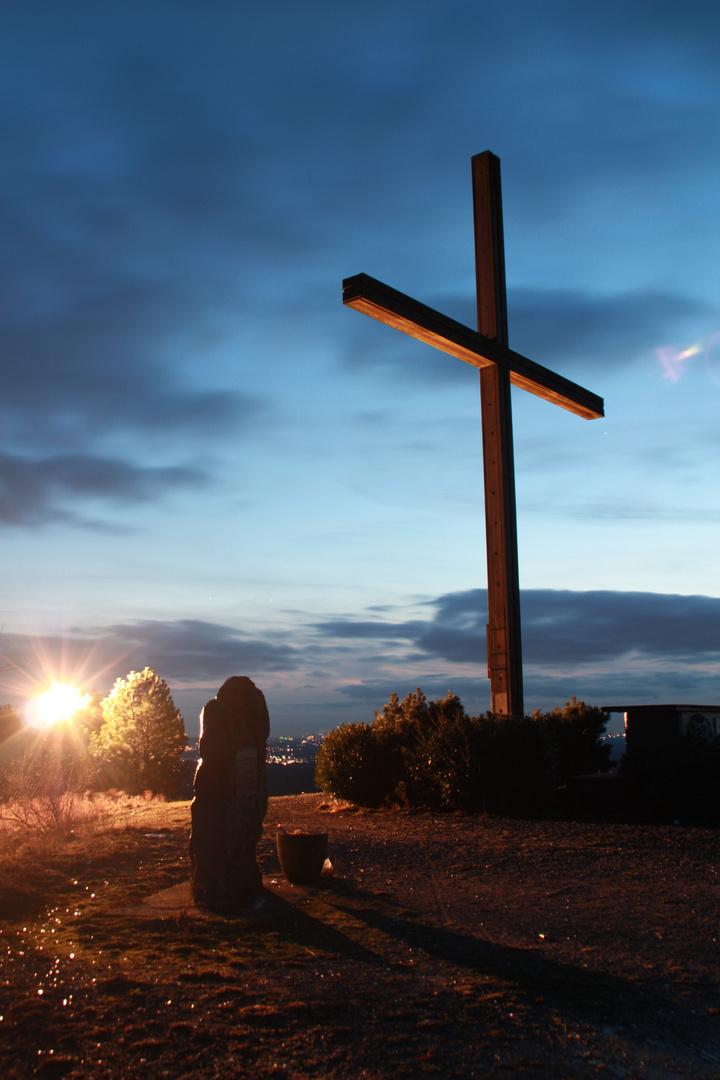 Das Kreuz auf der Halde in Königshart