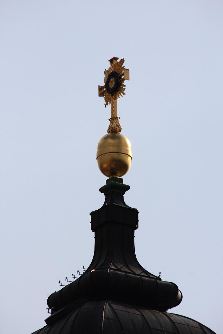 Das Kreuz der Frauenkirche