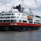 Das Kreuzfahrtschiff FRAM