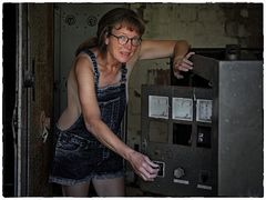Das Kühlaggregat?