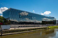 Das Kunstmuseum Lentos in Linz