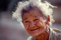Das Lächeln des Alters