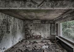 Das längst verlassene Wohnzimmer