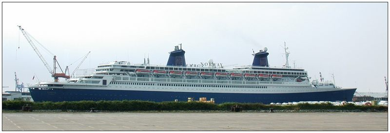 das längste Passagierschiff der Welt