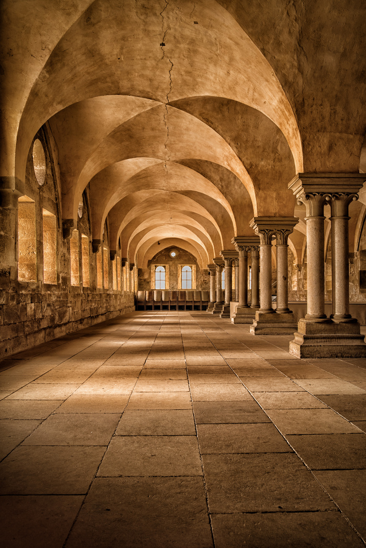 Das Laienrefektorium im Kloster Maulbronn
