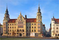 Das Landgericht in Halle ( Saale )
