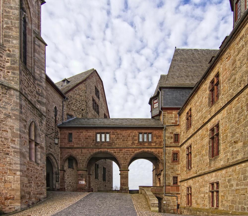 Das Landgrafenschloss Marburg IV