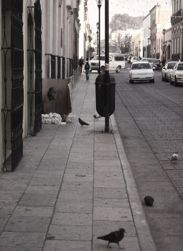 Das Leben auf den Straßen von Mexiko