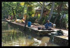 das Leben in den Backwaters