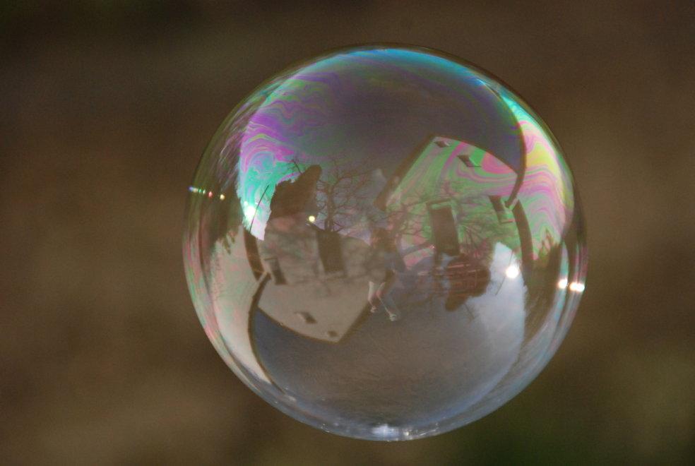 Das Leben in einer Seifenblase