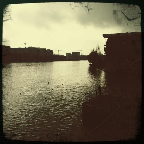 Das Leben ist ein langer, ruhiger Fluss