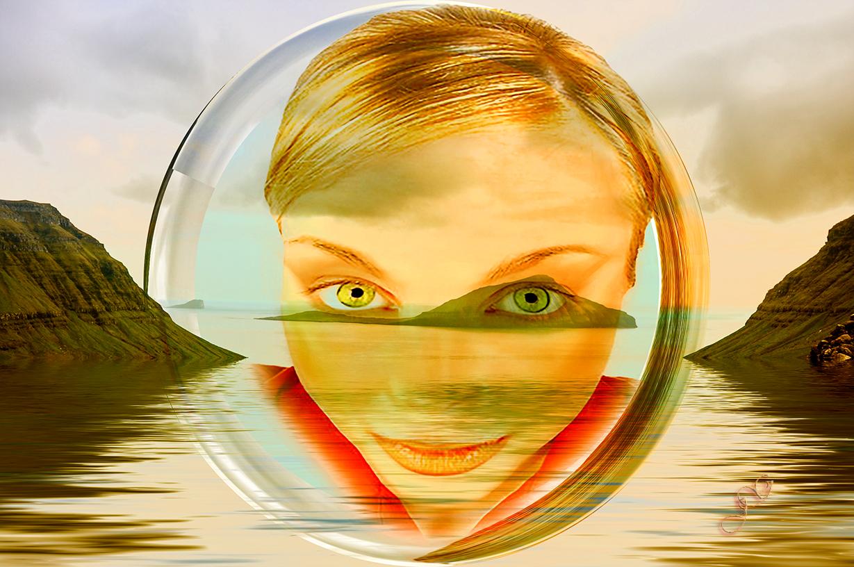 Das Leben ist ein langsames Öffnen der Augen in einem Meer voller Erkenntnisse...Werner Braun