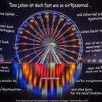 Das Leben ist ein Riesenrad ...