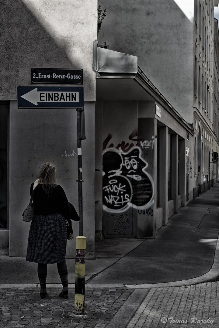 Das Leben ist manchmal eine Einbahnstraße ;-)