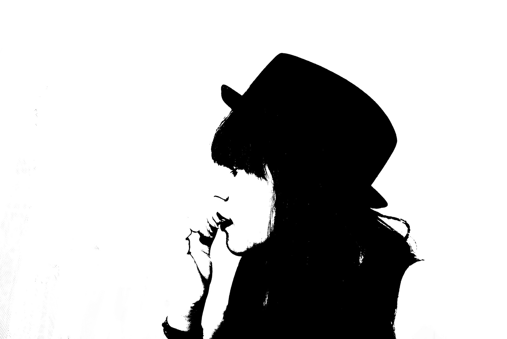 Das Leben ist schwarz-weiß, bis Jemand kommt der Farbe in dein Leben bringt.