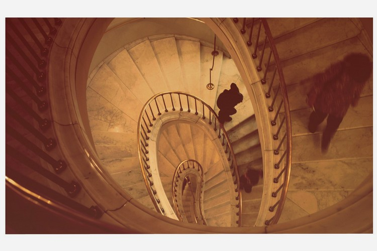 das leben ist wie eine treppe.