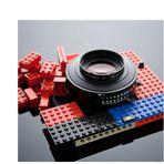 das lego-projekt II, die 8x10 inch kamera...
