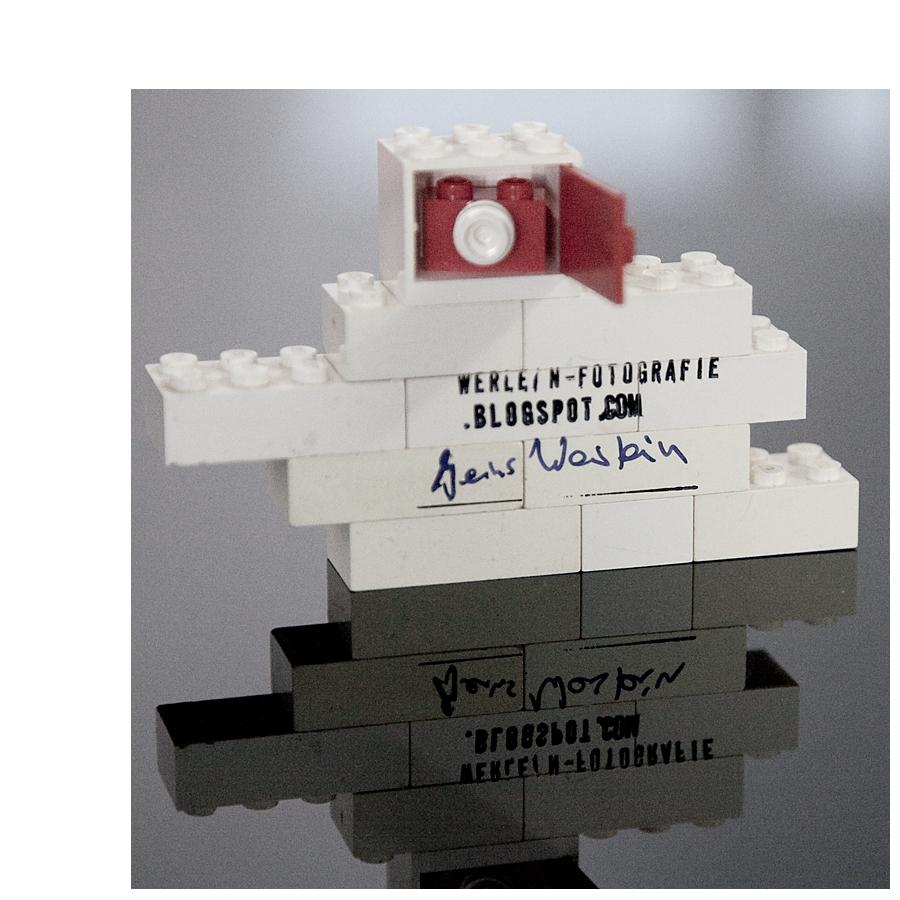 das lego projektII, die 8x10 inch lego kamera...