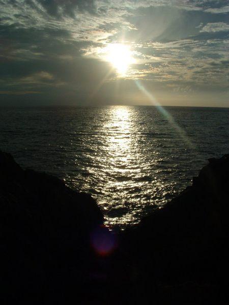 Das letzte Licht der Sonne