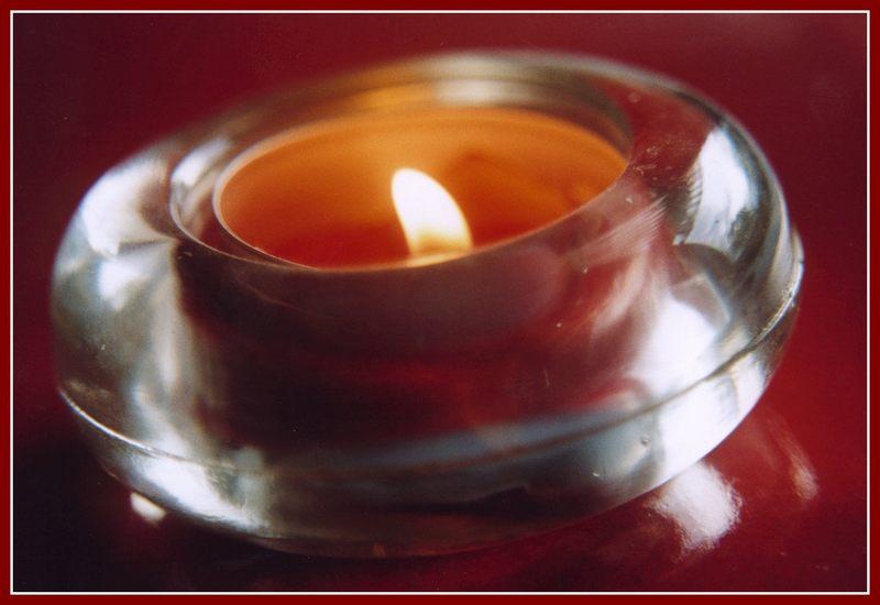 Das Licht der Kerze