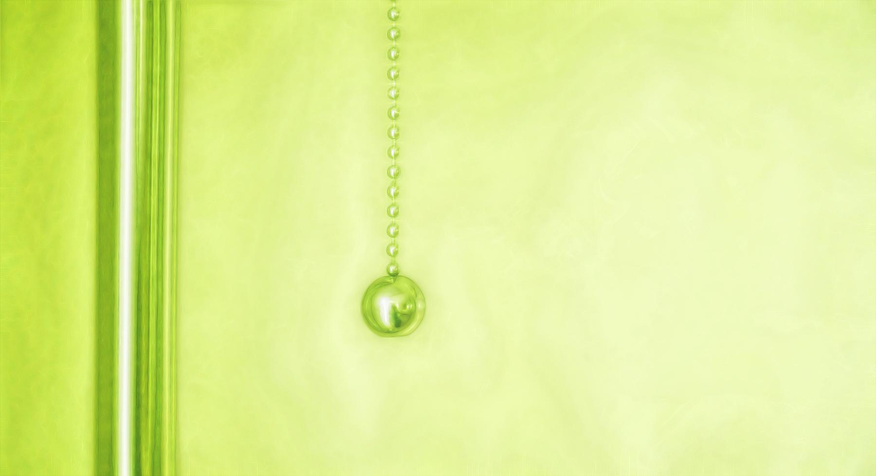 das licht im grünem zimmer ...