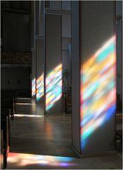 Das Licht von Kirchenfenstern