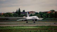 Das Line-up einer Concorde