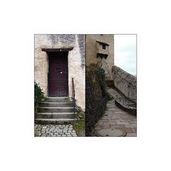 Das Loch in der Tür ermöglicht neue Einsichten