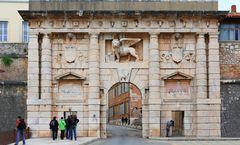 Das Löwentor von Zadar