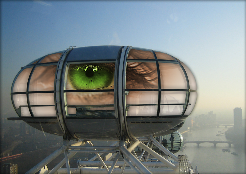 Das London Eye-Eye