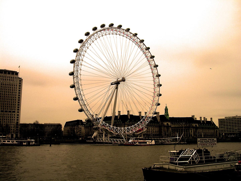 ...das London Eye...