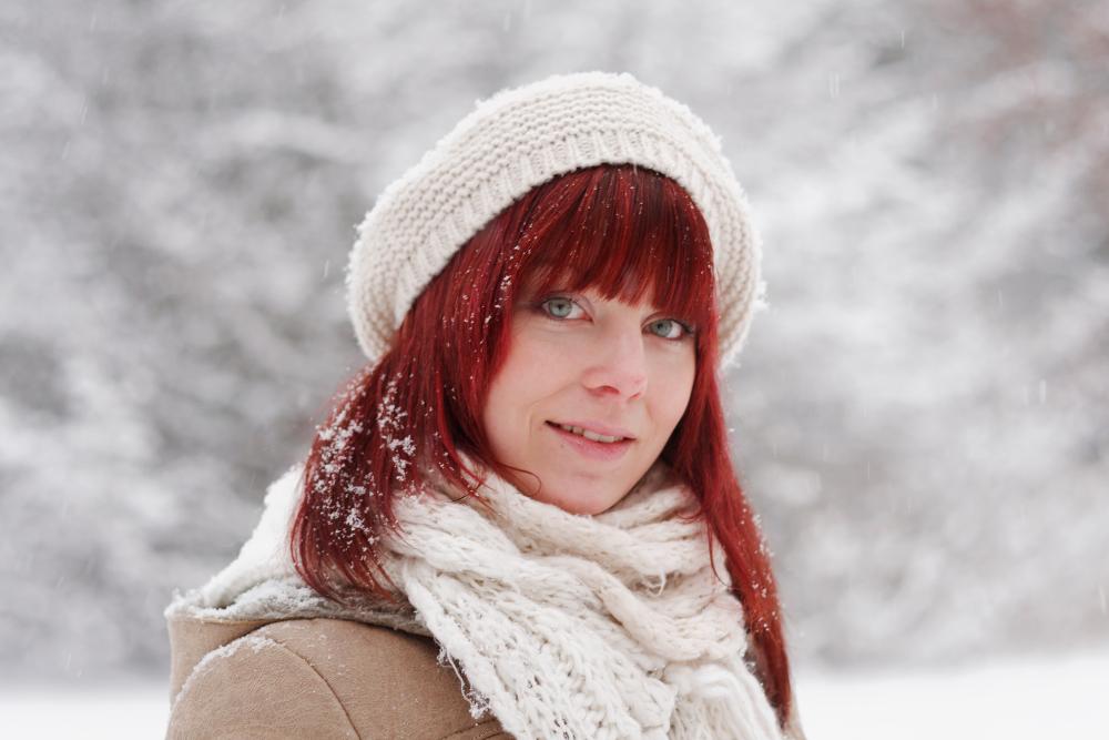 Das Lottchen im Schnee :-)