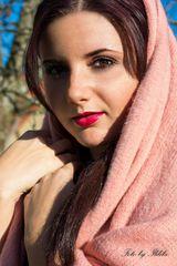 Das Mädchen in dem Schal