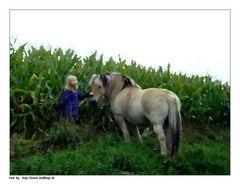 Das Mädchen mit dem Pferd