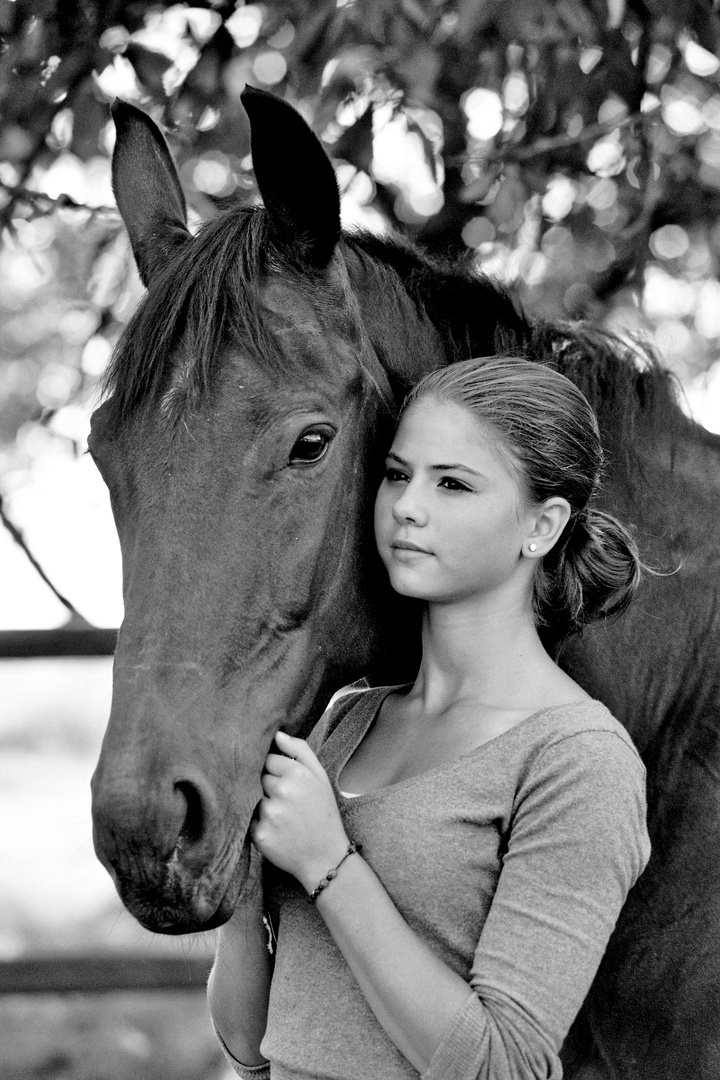 Das Mädchen und ihr Pferd #1