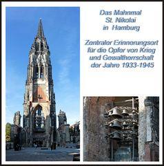 Das Mahnmal St. Nikolai in  Hamburg