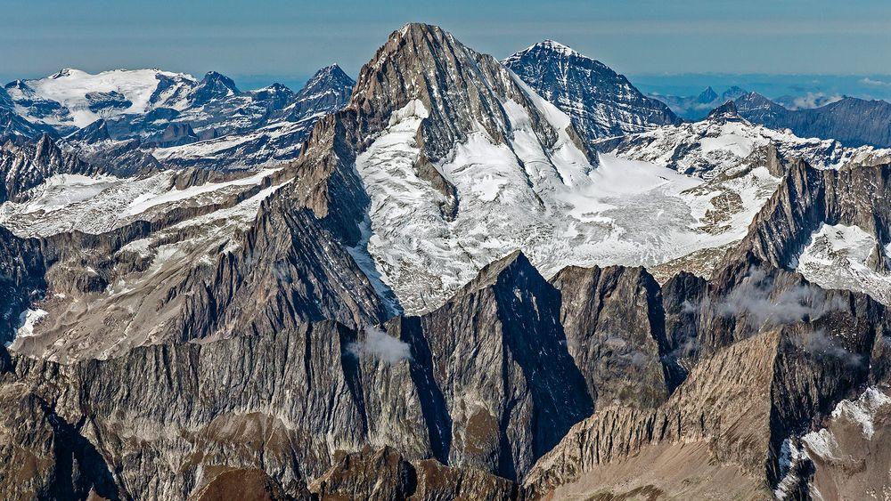 Das majestätische BIETSCHHORN - ein fast Viertausender