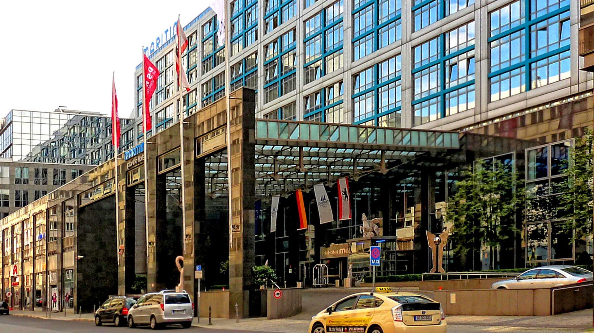 Das Maritim-Hotel in Berlin als ganz großer Spiegel