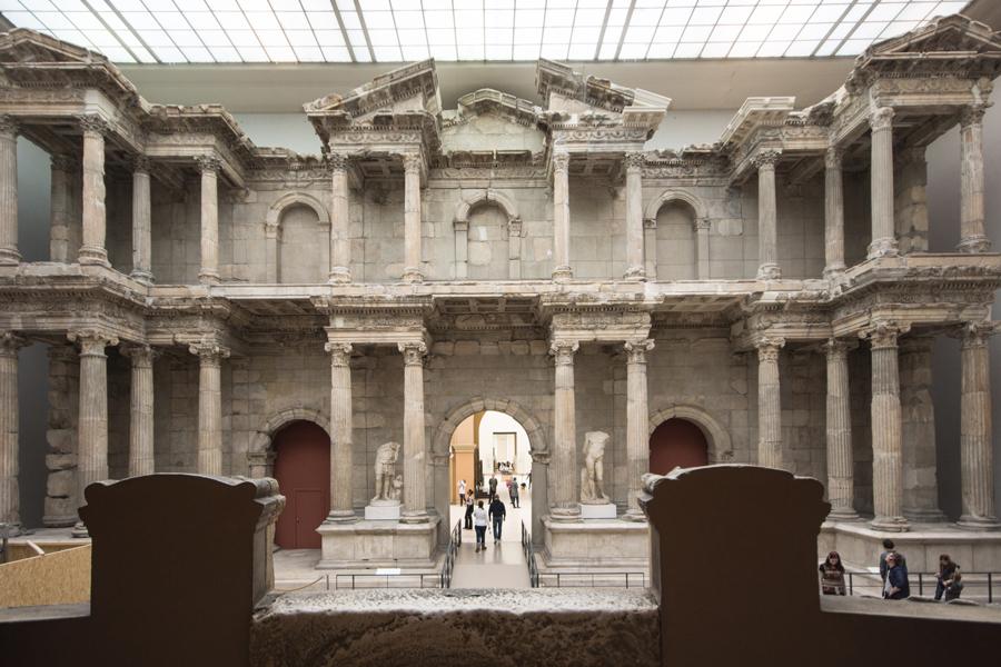 Das Markttor von Milet ...
