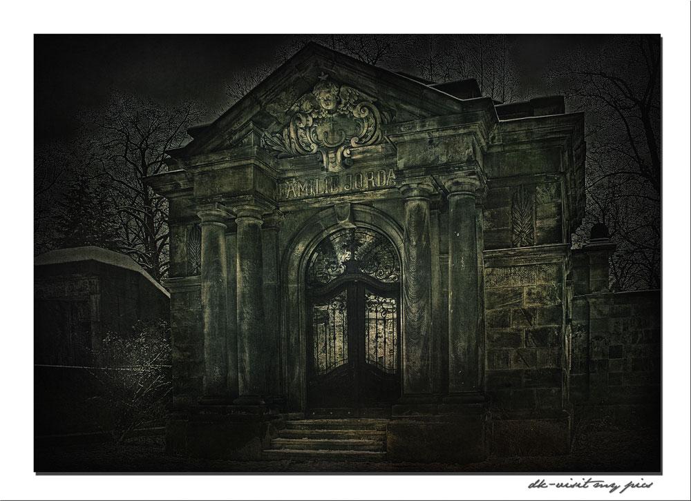 Das Mausoleum der Familie Jordan